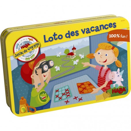 Travel Bingo - Travel Game in a tin box
