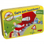 Beware of traffic jams - travel game in a tin box