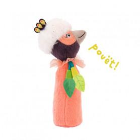 Hochet pouet oiseau Paloma - Dans la Jungle - Moulin Roty