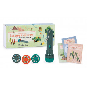 Lampe à histoires de l'explorateur - Le Jardin du Moulin - Moulin Roty