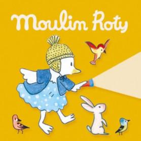 3 disques à histoires - La grande famille - Moulin Roty