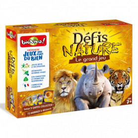 Jeu Le Grand Jeu Défis Nature + Cartes collector