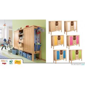 Commode haute 2 portes/3 tiroirs Matti