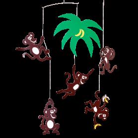 Mobile Arbre de singes