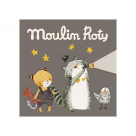 Boîte de 3 disques pour lampe à histoires - Les Moustaches - Moulin Roty