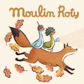 Boîte de 3 disques pour lampe à histoires - Le voyage d'olga - Moulin Roty