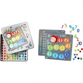 Boîte de jeu magnétique Chiffres - Haba