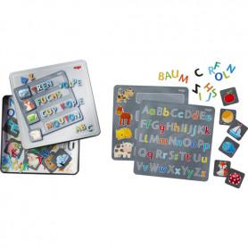 Boîte de jeu magnétique Lettres - Haba