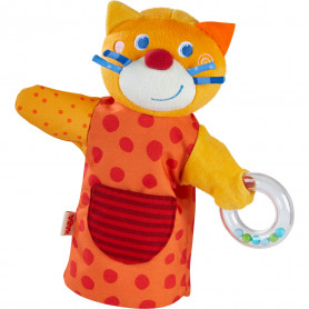 Marionnette sonore Chat musicien - Haba