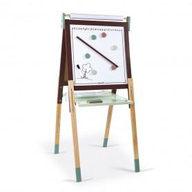 Tableau Réglable taupe et vert (bois)