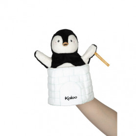 Marionnette Cache-cache Pingouin Gabin
