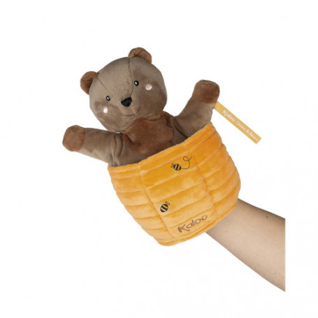 Marionette Cache-cache Ours Ted