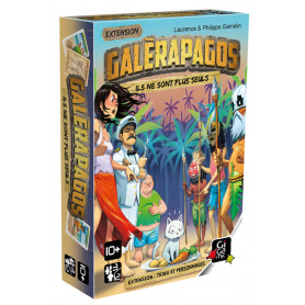 Extension Galérapagos : Tribus et Personnages