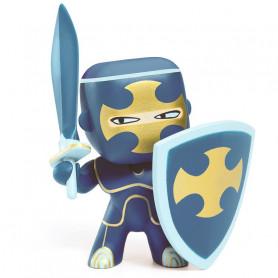 Dark blue figurine chevalier Arty Toys - Djeco