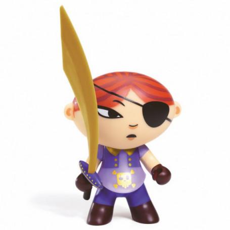 Mary Scarlett figurine pirate Arty Toys - Djeco
