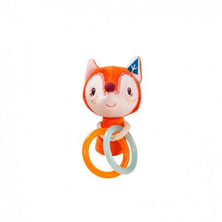 Mini rattle - Alice the fox