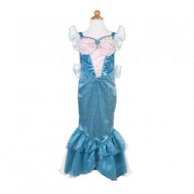 Robe de Sirène bleue 5/6 ans