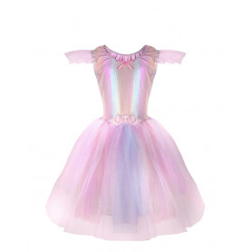 Robe licorne rose - 5/6 ans - Edition limitée