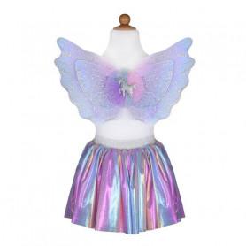 Set licorne jupe et ailes - 4/6 ans