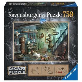 Puzzle escape 759 pièces - Forbidden Basement