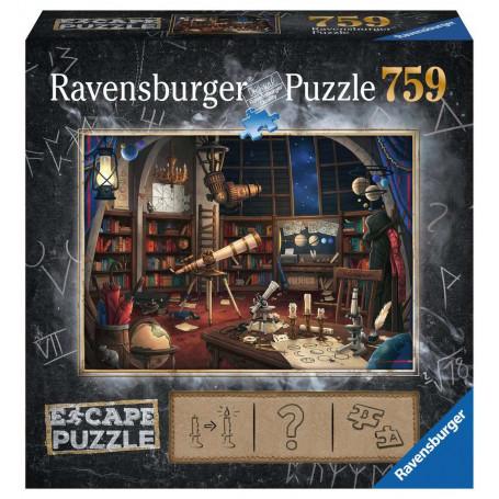 Puzzle escape 759 pièces - Observatoire astronomique