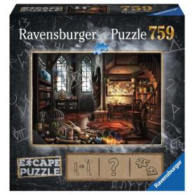 Puzzle escape 759 pièces - L'antre du dragon