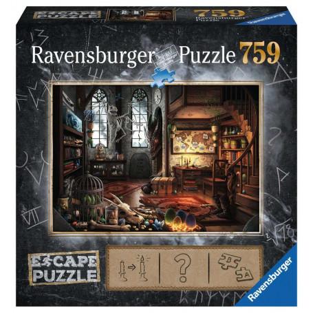 Puzzle escape 759 pièces - dragon's lair