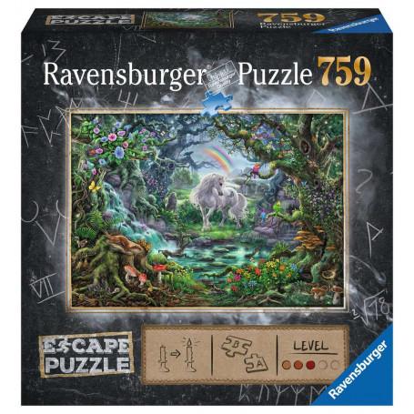 Puzzle escape 759 pièces - La licorne
