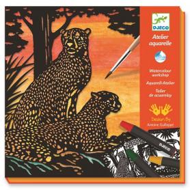Aquarelle Ombres et Dégradés Jungle - Djeco