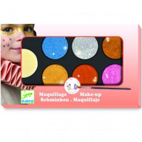 Palette de maquillage 6 couleurs Effet métallique - Djeco