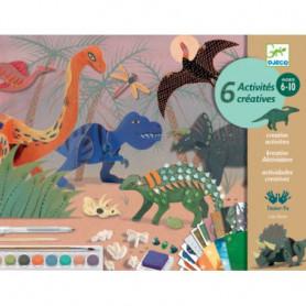 Le monde des dinosaures - Coffret multi-activités