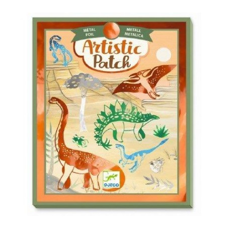 Collages Artistic Patch Dinosaurus - Djeco