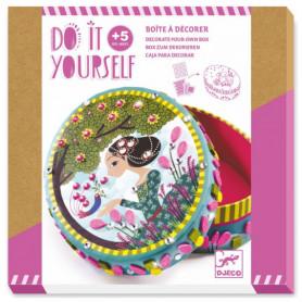 Boite à décorer petits secrets - Do it Yourself - Djeco