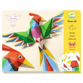 Poster 3D 'Amazonie' - Djeco