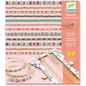 Bracelets et métier à tisser 'Minuscules' - Djeco