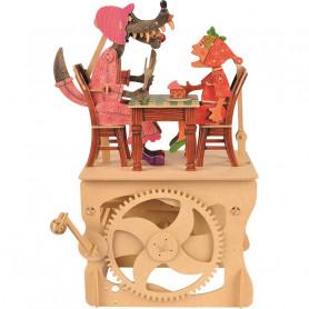 Chaperon rouge - Automate à monter en bois