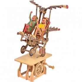 Flying Finkle Family - Automate à monter en bois