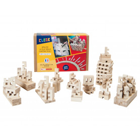 building kit in wood  Collective Challenge