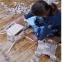 Jeu de construction en bois DEFI COLLECTIF
