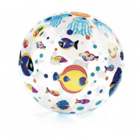 Ballon gonflable fishes ball - Djeco