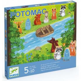 Potomac, jeu de parcours et de coopération - Djeco