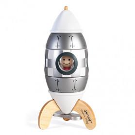 Kit Magnet Fusée Argentée