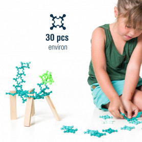 Building set 30 pièces by Clip it