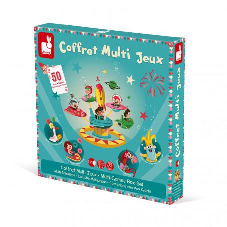 Coffret multi jeux carrousel