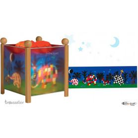 Lanterne magique Elmer l'éléphant
