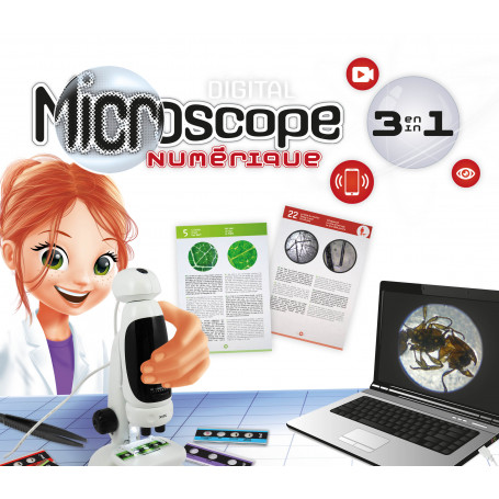 Microscope Vidéo 3 en 1