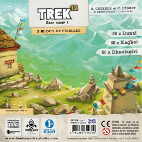 Trek 12 - Base Camp 1-Bloc de 150 feuilles