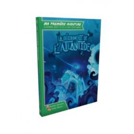 Livre jeu Ma première aventure : La découverte de L'Atlantide