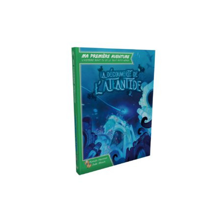 Game Book Ma première aventure : La découverte de L'Atlantide