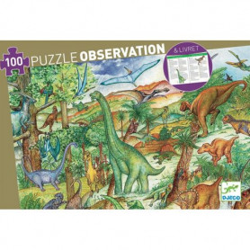 Dinosaurs - Observation Puzzle 100 pieces